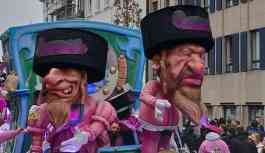 Belçika'daki karnavalda hiciv mi yoksa Yahudi karşıtlığı mı?