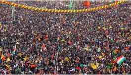 Binlerden milyonlara ulaşan Diyarbakır Newrozu