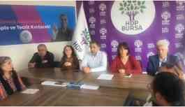 Bursa'daki gözaltılara tepki: Derhal serbest bırakılmalılar