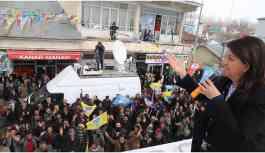 HDP Eş Genel Başkanı Buldan: Kayyumun yaptığı hırsızlıktır