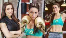Kazak boksör Şaripova: Putin'le maç yapmak, Playboy'a poz vermek istiyorum