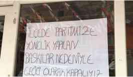 Seçim bürosunu kapatan CHP Uludere Adayı Tanık'tan çarpıcı iddialar