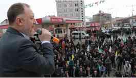 Temelli Tuzluca'da konuştu: Bunlar paniklemiş durumdalar