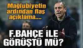 Abdullah Avcı'dan Fenerbahçe yanıtı! Görüşme yapıldı mı?