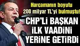 CHP'li Özcan Suriyelilerle ilgili vaadini yerine getirdi