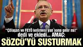 Kılıçdaroğlu'ndan Sözcü davasına tepki