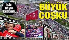 İstanbul'da 1 Mayıs böyle kutlandı