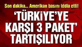 'ABD Türkiye'ye yönelik üç yaptırım paketi üzerinde duruyor'