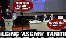 Erdoğan'ın sorusuna ilginç yanıt