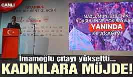 İmamoğlu, İstanbul için çözümlerini tek tek açıklıyor