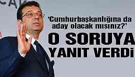 İmamoğlu'ndan CHP Genel Başkanlığı ve Cumhurbaşkanlığı Yorumu