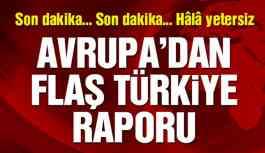 Avrupa Konseyi'nden flaş Türkiye raporu