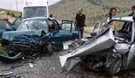 Tatilin ilk gününde kaza bilançosu: 13 ölü, 96 yaralı