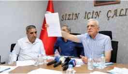 Ahmet Türk, son dönemlerdeki tüm karalamalara cevap verdi