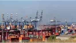 Ambarlı Limanı'nda bir gemi alev aldı