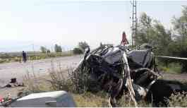 Başkale'de trafik kazası: 1 ölü