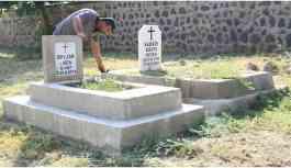 Ermeni- Süryani mezarlığını 90 yıldır aynı aile definecilerden koruyor