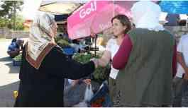 Hevsel'in üretici kadınlarından pazar...