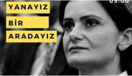Kaftancıoğlu'na sosyal medyadan destek