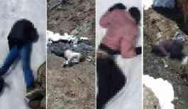 Kar eriyince 25 cansız beden ortaya çıktı!