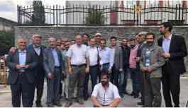 Karayazı'da gözaltına alınan HDP'liler...