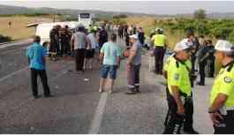 Manisa'da kaza: 6 inşaat işçisi öldü