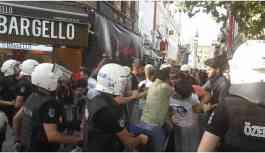 ÖSYM'yi protesto eden liseliler gözaltına alındı