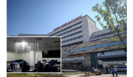 Şehir dışında 'Şehir Hastanesi': 15 gün önce açılmıştı, şimdi su bastı
