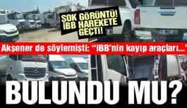 Son dakika… Şok görüntü: İBB'nin kayıp milyonlarca TL'lik araç filosu bulundu iddiası!