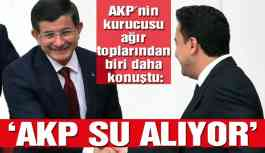 """""""AKP teknesi su alıyor"""""""