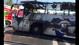 Balıkesir'de otobüs yangınında yaşamını yitirenlerin kimlikleri belirlendi