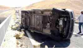 Batman-Silvan Karayolu'nda kaza: 2'si ağır 7 yaralı