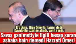 'Davutoğlu'nun Hz. Ömer ifadesi AKP'ye bir yolsuzluk imasıydı'