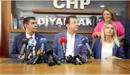 İmamoğlu Diyarbakır'da: Kayyum atanması gaflet ve delalettir