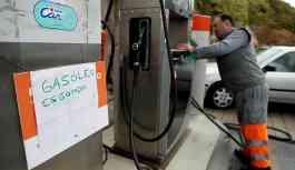 Portekiz'de tanker şoförleri greve gitti, istasyonlarda benzin kalmadı