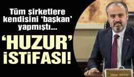 Son dakika: Eleştirilerin hedefi olan AKP'li başkan o şirketlerden istifa etti!