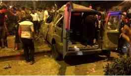Üç ilde trafik kazası: 1 ölü 15 yaralı