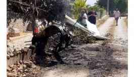 Uçak ve helikopter çarpıştı: İkisi çocuk, 7 ölü