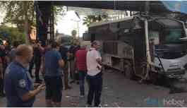 Sondakika... Çevik kuvvet polisine bombalı saldırı: Çok sayıda yaralı var