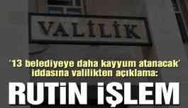 Diyarbakır Valiliği'nden ilçe belediyeler için kayyum açıklaması