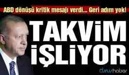 Erdoğan ABD dönüşü uçakta konuştu: Takvim işliyor