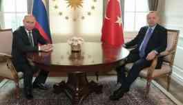 Erdoğan, Putin ve Ruhani'yle görüştü