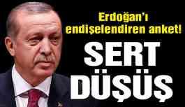 Erdoğan'ı endişelendiren anket!