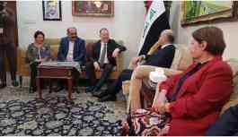 HDP heyeti Irak Cumhurbaşkanı Berhem Salih ile görüştü