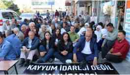 HDP'li Orhan: Bakan orada oturacağına Sayın Öcalan ile görüşüp sorunu çözebilir