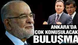 Ankara'da çok konuşulacak buluşma!