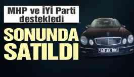MHP ve İYİ Parti destekledi, CHP'li başkan makam aracını sattı