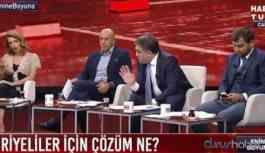 Nagehan Alçı ile Ersan Şen canlı yayında tartıştı