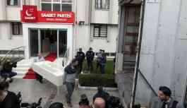 Saadet Partisi, yeni binasına taşınıyor