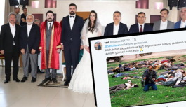 Yeğeninin nikah fotoğrafını paylaştı! Halepçe katliamı gündeme geldi